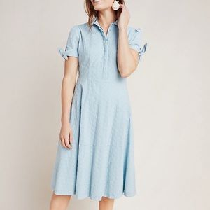 Anthropologie Gal Meets Glam eyelet dress